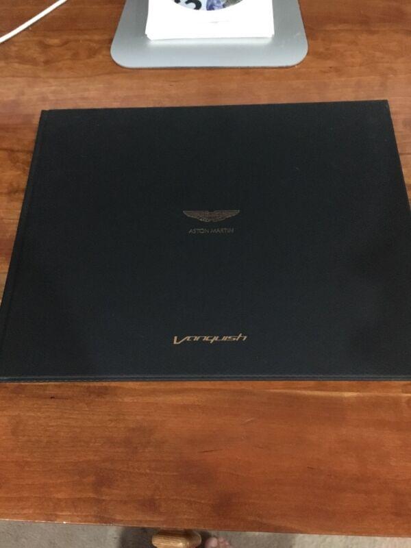 Aston Martin Vanquish Promotional Book