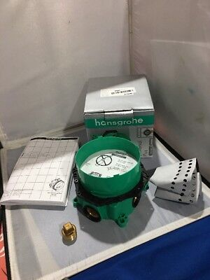 """Hansgrohe 01850181 iBox Universal Plus Rough Valve  with Stops, 3/4"""" Rough-In, used for sale  Hawthorne"""