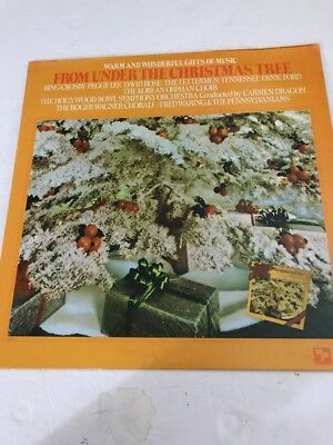 From Under The Christmas Tree -record lp- Bing Crosby-Peggy Lee- Ships  N 24hrs ()