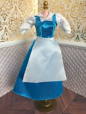 Village Belle Beast Disney Classic Doll Barbie Beauty Princess Film Outfit