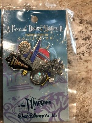 Disney Pin 50898 Piece Of History Timekeeper 2006 Le 2500