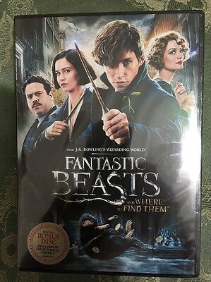 Fantastic Beasts And Where To Find Them  Dvd  2017  2 Disc Set