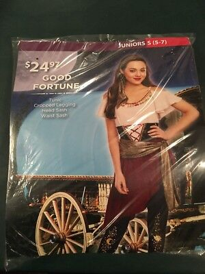 Good Costumes For Girls (Halloween Costume Girls Junior Good Fortune Size Small 5-7)