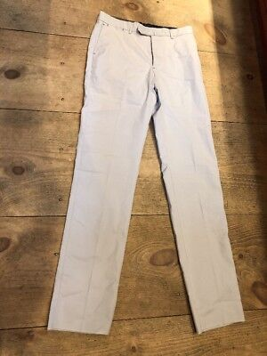 PETER MILLAR PICK STITCH COLLECTION Pants Cotton Stone Sz 32 $178 New With Tags