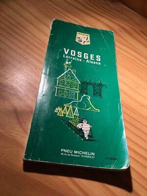 Guide Green Michelin Tourism Vosges Lorraine Alsace 21 Éme Edition, 1970