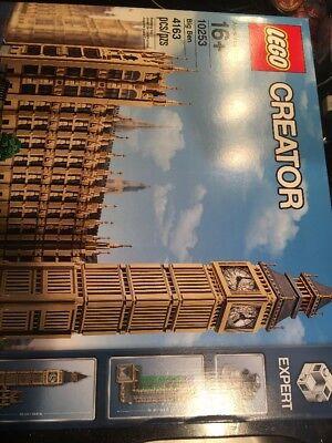 Lego Creator Expert 10253 Big Ben Building Kit Brand New Factory Sealed Wear