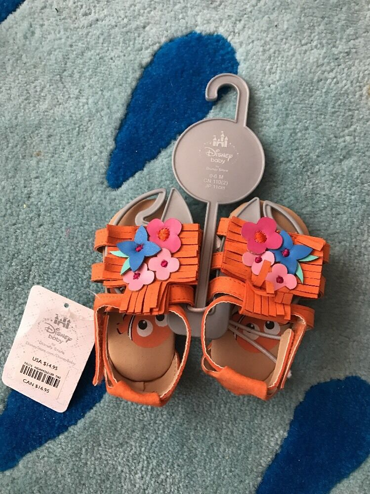 Nemo Sandals For Baby Girls 0-6M