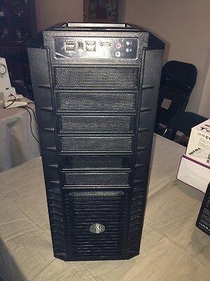Cooler Master HAF 932 Full Tower PC Case USB 3.0 kit w cables & Amp castor kit