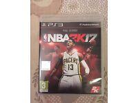 NBA 2k17 PS3 Game