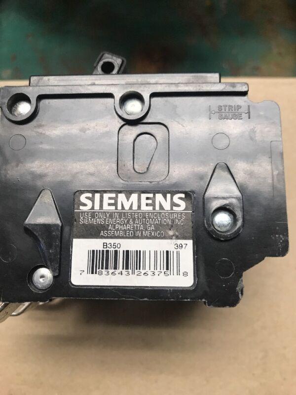 Siemens ITE Gould B350 Circuit Breaker 3Pole 50 Amp