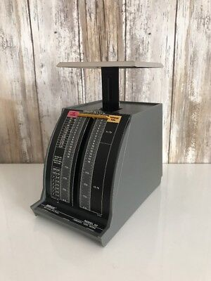 1999 Pelouze Scale Model X2 Usps Pricing Vintage Old-school Scale Rare