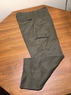 Czech Military Surplus BDU Pant Olive Green New!  31x31.5