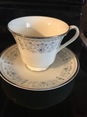 Vintage 1973 Minton Tea Cup & Saucer Set - Made In England   Beaumaris