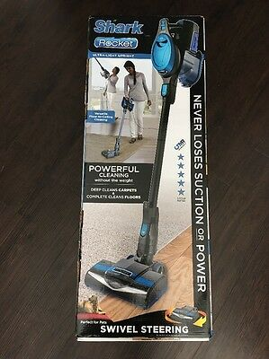 Shark HV300 Rocket Ultra-Light Upright Bagless Vacuum Cleaner New in Box