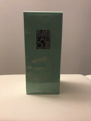 EAU DE LALIQUE PERFUME FOR WOMEN 3.3 OZ / 100 ML EAU DE TOILETTE SPRAY NIB RARE