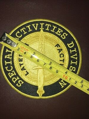 CIA SAD Special Activities Division SOG Latebra Factum 5 Inch Patch Sale