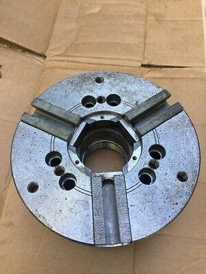 Mmk 12 Hydraulic Lathe Chuck Za8-12-85 09 Through Hole 3 Jaw Power