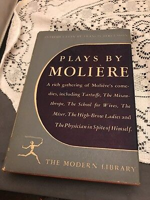 Plays By Moliere 1950 Modern Library Random House