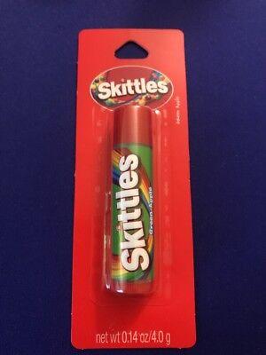 Skittles GREEN APPLE Flavored Lip Balm ~ Sealed  Apple Flavored Lip Balm