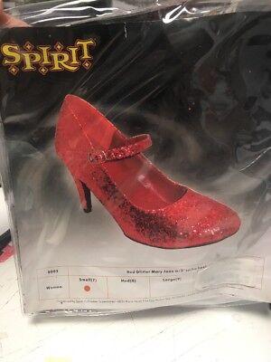 Neu Spirit Damen 'S Glitzer Maryjane Größe 7 Dorothy Zauberer von - Mary Jane Kostüm Schuhe