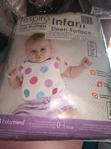 baby trend respiro tm crib mattress infant