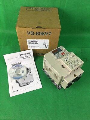 Yaskawa Drive Cimr-v7nu40p4 Varispeed 460v 1.8a 3ph Vs-606v7