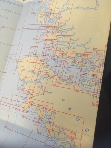 Canadian Nautical Chart Jan 1972; Southern British Columbia coast, Vancouver isl