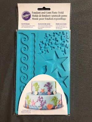 Mold Animal - Wilton Fondant and Gum Mold Marine Shell Animal Sea Life Cake Decorating Cupcake
