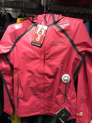Columbia Womens Jacket Better Than Brella EXS Jacket $175 Red