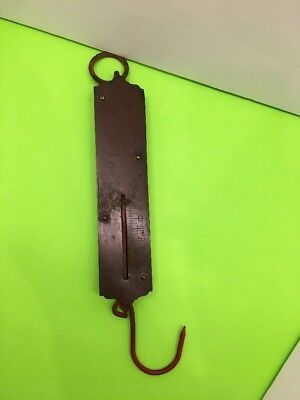 Spring Balance Scale - Chatillon's Improved Spring Balance Scale  New York 28lbs Red Hook Bin #6