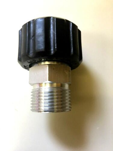 Female M22 , 14mm (Standard) To Male M22 ,15mm Adapter Plug