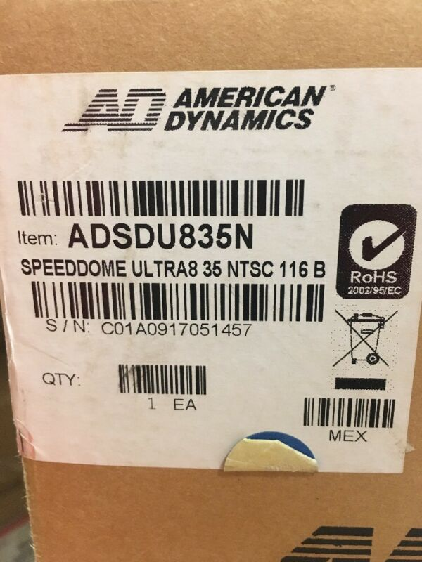 American Dynamics ADSDU835N Speed Dome Surveillance Camera