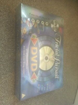 Brand New & Sealed Trivial Pursuit DVD Edition Family Board Game Parker