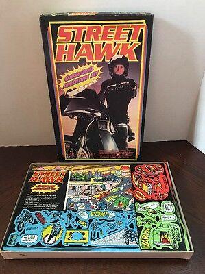 Rare Vintage Street Hawk Colorforms Adventure Set 1984 MIB Unused - No Reserve