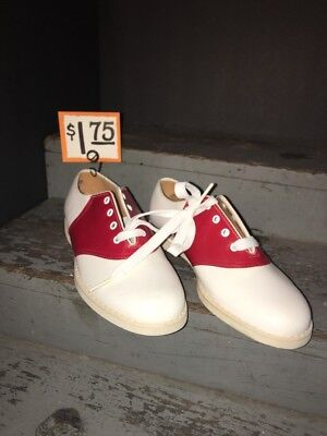 """Vintage New Old Stock Children's shoes 1940 - 1950 Era """"Color Pacers"""""""