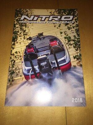 2016 Nitro Boats Fishing Catalog Brochure Z18 Z20 Z21 Z7 ZV21 Spanish Version