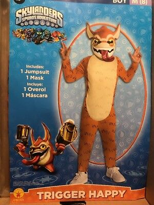 Skylanders Trigger Happy Costume Boy M(8)