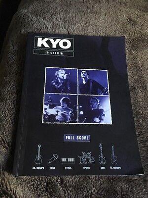 (KYO Le Chenin Full Score Guitar Bass Tab Tablature Drums Book Sheet Music Rare)