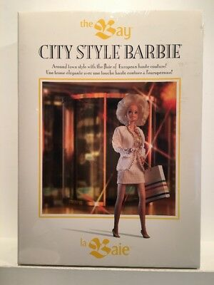 "VTG Barbie Doll 1993 By Mattel ""City Style Barbie"" NIB Sealed New THE BAY"