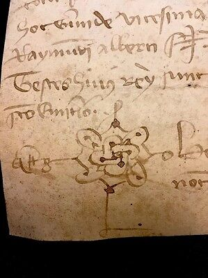 PARCHMENT IN LATIN 1378