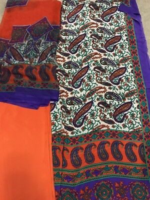 Designer Lawn Kameez Duppata  Shalwar  New UnStitched Silk for sale  Shipping to India