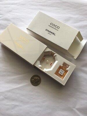 CHANEL Coco Mademoiselle 1.5 ml/.05oz MINI Perfume Bottle Collectible Music Box