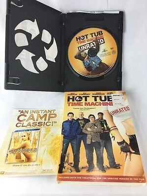 Hot Tub Time Machine Unrated DVD Comedy Funny (Hot Funny Movies)