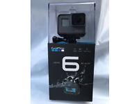 Brand New GoPro Hero 6 Black Edition 4K VIDEO QUALITY