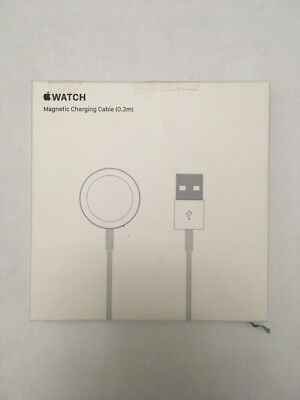 Apple Watch Charger Cable 1ft (.3m) MLLA2AM/A GENUINE, Original, Magnetic