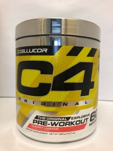 Cellucor C4 Original Pre-Workout iD 60 Servings CHERRY LIMEA
