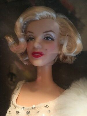 Marilyn Monroe Timeless Treasure Birthday Tribute Hollywood Glamour Barbie Doll