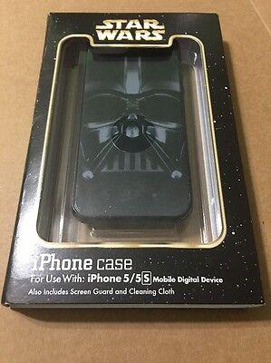 Disney Parks Star Wars Black Darth Vader iPhone 5/5s Cellphone Case Holder