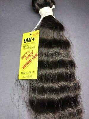 SHAKE_N_GO UNPROCESSED 100% HUMAN HAIR_9W+_DEEP WAVE_WET &