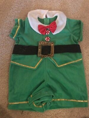 In Character Kids Toddler Christmas Elf Costume Santa Helper Sz - Children's Character Costumes